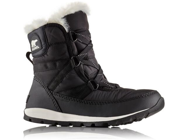 Sorel W's Whitney Short Lace Boots Black